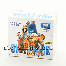 One Piece The New World Luffy Nami Sanji Choppe Zoro Usopp 8 pcs Action Figures