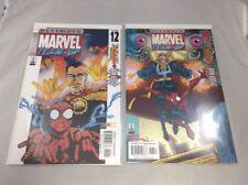 Ultimate Marvel Team Up # 12 & 13 Marvel Comics 2002 Spider-Man & Doctor Strange