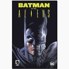 Batman vs Aliens dc tres extraterrestres crossover HC Variant limitado 333 Panini