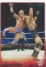 Zack Ryder Topps WWE 2015 Trading Card #86