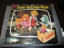 Augsburger Puppenkiste - Kleiner König Kalle Wirsch - Hörspiel LP von Disneyland