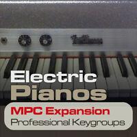 ELECTRIC PIANOS MPC EXPANSION PROGRAMS & KEYGROUP READY T PLAY AKAI MPC DOWNLOAD