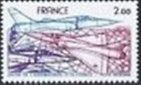 "FRANCE TIMBRE STAMP AVION N° 54 "" MIRAGE 2000 2F "" NEUF XX TTB"