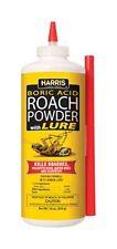 HARRIS ROACH POWDER w/ LURE 16 OZ Roaches,Palmetto Bugs, Water Bugs, Silverfish