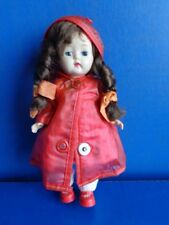 "VINTAGE 8"" GINGER DOLL BY COSMOPOLITAN- 1950s GINNY FRIEND"