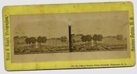 Saratoga Springs NY United States Hotel Grounds 1870s Stereoview
