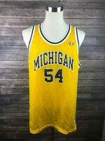 Vtg University of Michigan Champions Mens Basketball Jersey Size 48