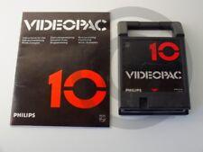 !!! PHILIPS G7000 SPIEL Videopac 10 mit Anl., gebraucht aber GUT !!!