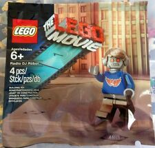 LEGO - The LEGO Movie - Rare Exclusive Radio DJ Robot 5002203 - New & Sealed