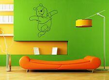 Wall Stickers Vinyl Decal Baby Cartoon Winnie the Pooh Positive Design (ig1038)