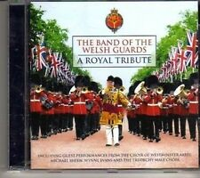 (CR709) The Band Of The Welsh Guards, A Royal Tribute - 2011 CD