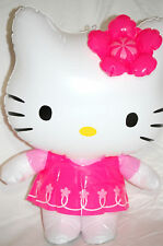 Hello Kitty Inflatable Pink Toy Gift Garden Beach Holiday Fun New