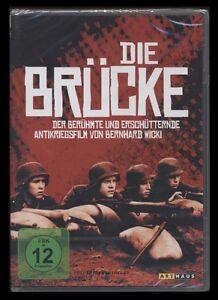 DVD DIE BRÜCKE - KRIEGSFILM VON BERNHARD WICKI mit FRITZ WEPPER *** NEU ***