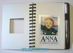 """Gadget Bloc Notes """"Gli Appunti di Anna""""_ ANNA DAI CAPELLI ROSSI (De Agostini)"""