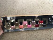 ELF 10 Piece Nail Polish Set Shimmer & Shine, 5ml each New In Box Cute