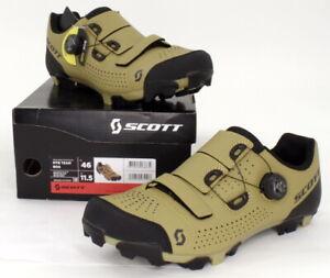 Scott MTB Team Boa Mountain Bike Shoes Beige/Black Men's Size 11.5 US / 46 EU