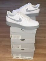 New Nike Air Force 1 Low White Wolf Grey Men's Size 9-13 Sneakers CK7663-104