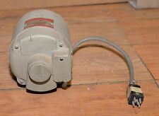 Vintage General Electric DC motor model 5BC46AB2112A 1725 rpm continuous duty