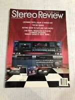 Vintage STEREO REVIEW Audiophile HIFI Magazine March 1991