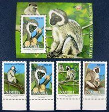 Namibia 2004 Jahr des Affen Year of the Monkey 1115-1118 Block 59 Postfrisch MNH
