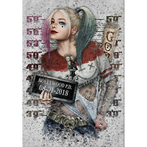 DIY 5D FULL Diamond Painting Kits Gift for Kids Adult Harley Quinn Embroidery