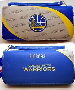 Golden State Warriors NBA Curve Zipper Organizer Ladies Wallet