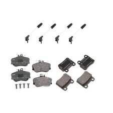 Mercedes W202 C280 Textar Front And Rear Brake Pad Kit & 4 Brake Pad Sensors Pex