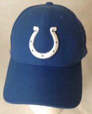 Indianapolis Colts Ball Hat Football NFL Reebok On Field  20% Wool  Strap back