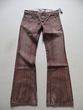 Diesel ZATHAN Bootcut Jeans Hose, W 31 /L 34, NEU ! Vintage braun, Einzelstück !