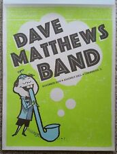 Dave Matthews Band Champaign Illinois Winter 2005 11/30/05 Assembly Hall Poster