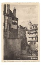 oloron-sainte-marie  vieilles maisons au pont du gave