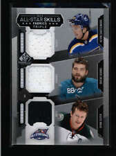 SHATTENKIRK/ BURNS/ SUTER 2015/16 SP GAME USED 3-PC JERSEY AH2449
