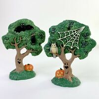 MIDWEST OF CANNON FALLS CREEPY HOLLOW SPOOKY ACCESSORY 2 HAUNTED TREES NOS 1996