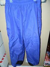 Columbia Ski Pants Lightweight Shell Purple Size Large Mens