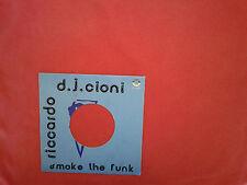 "Riccardo Cioni – Smoke The Funk  – Copertina Forata Per Disco Vinile 45 Giri 7"""