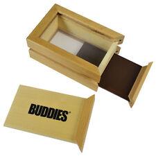 "SMALL 6"" X 4"" BUDDIES FINE MESH SIFTER SHAKER Powder BOX Magnets/Tempered Glass"