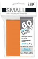 Ultra PRO Small Deck Protector Sleeves Card Size ORANGE 60ct 62 x 89mm