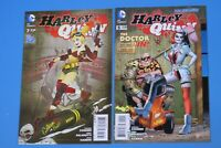 DC Harley Quinn Issues 5 & 7 2014 Poison Ivy Appearance in #7 Bombshell Cover NM
