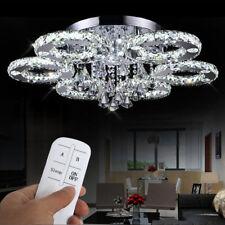 LED Lampe Kristall Kronleuchter Deckenlampe Pendelleuchte Lüster Hängeleuchte