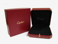 Cartier Presentation Red Jewelry Case w/ Outer Box for Necklace Pendant NEW