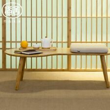 Bamboo Minimalist Coffee Table Outdoors