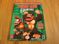 Prima Official Donkey Kong Country Strategy Guide GBA