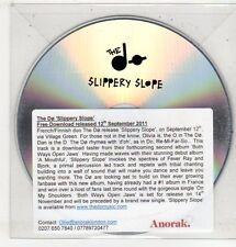 (ET736) The Dø, Slippery Slope - 2011 DJ CD