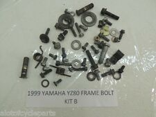 99 YAMAHA YZ80 YZ 80 FRAME BOLT KIT MISC NUT BOLT WASHER SPRING SPARE PARTS B