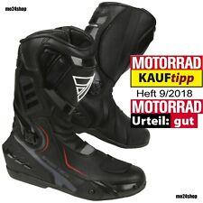 Modeka Sportstiefel Speed Tech schwarz Motorrad Stiefel Motorradstiefel Sport