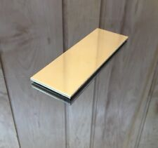 """1/8 BRASS SHEET PLATE NEW 2""""X6"""" .125 Thick *CUSTOM 1/8 SIZES AVAILABLE*"""