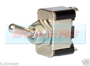 12V VOLT HEAVY DUTY CAR 25A UNIVERSAL METAL ON/OFF TOGGLE/FLICK SWITCH DASHBOARD