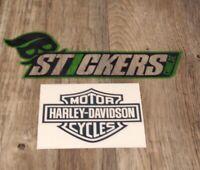 Harley-Davidson Schwarz Aufkleber Sticker Shocker OEM Tuning JDM Oldschool