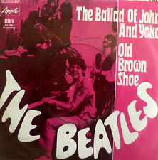 "7"" Beatles: the Ballad of John and Yoko/VG + ONLY? \"
