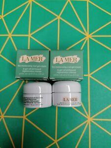 New Travel Size La Mer The Moisturizing Cool Gel Cream 3.5ml*2=7ml worth £35